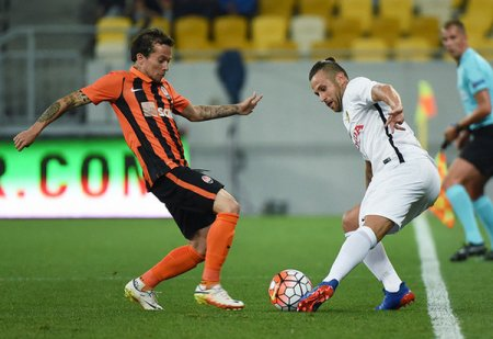 Каналы Украина и Футбол 1 покажут матч Янг Бойз - Шахтер