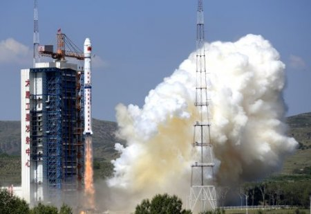 Китай запустил в космос ракету со спутником дистанционного зондирования земли Gaofen-3