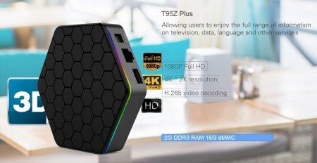 Ultra HD медиаплеер Sunvell T95Z Plus TV Box