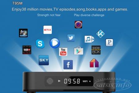 Ultra HD медиаплеер Sunvell T95M