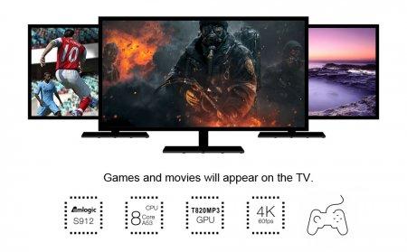 Ultra HD медиаплеер Beelink GT1