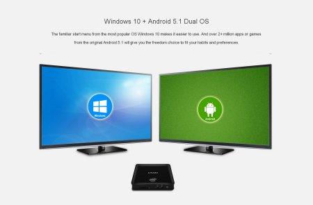 Ultra HD медиаплеер MiniPC - CHUWI HiBox