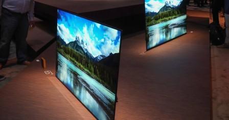 Sony BRAVIA OLED: невероятный телевизор со встроенным в экран звуком на выставке CES 2017