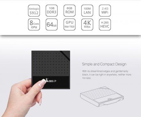 Ultra HD медиаплеер Mecool KM8 P