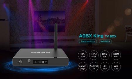 Ultra HD медиаплеер A95X King