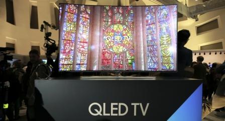 Samsung объявила цены на QLED-телевизоры