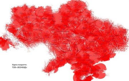 Цифровая сеть Т2 – самая большая телевизионная сеть в Украине