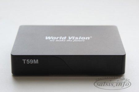 Обзор эфирного DVB-T2 ресивера World Vision T59М