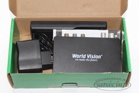 Обзор эфирного DVB-T2 ресивера World Vision T59M