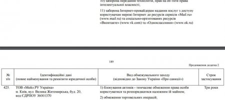 Порошенко подписал указ о блокировке в Украине «ВКонтакте», «Яндекс» и Mail.ru