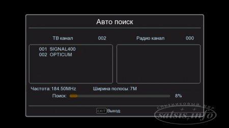 Тест Full HD HDMI в DVB-T модуляторов Opticum и Signal - 400