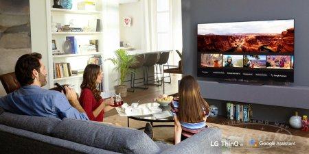 Телевизоры LG обзавелись интеллектуальным помощником Google Assistant