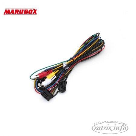 Автомобильный цифровой DVB-T2 тюнер на 4 антенны MARUBOX M9004