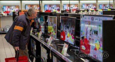 В преддверии ЧМ-18 в России выросли продажи телевизоров