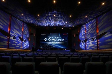 Samsung представила самый большой в мире LED-экран Onyx в кинотеатре Capital в Пекине