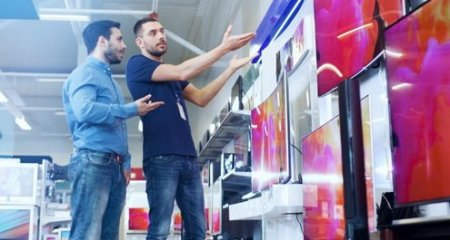 В «черную пятницу» в России продажи 4K-телевизоров выросли на 98%