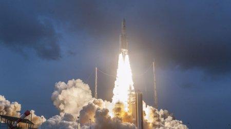 Ракета Ariane 5 со спутниками на борту успешно стартовала с космодрома Куру