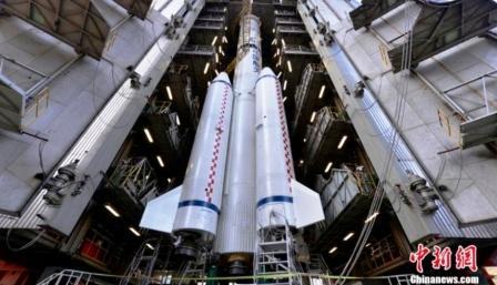 Китай запустил новый спутник связи Zhongxing-6C