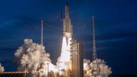 С космодрома Куру запустили ракету Ariane-5 с двумя спутниками связи