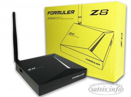 Обзор Formuler Z8