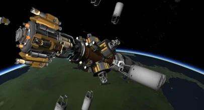 В России разрабатывают проект подзарядки спутников на орбите