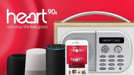 В Великобритании начала вещание радиостанция Heart 90s