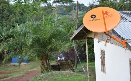 Китай подключил к спутниковому ТВ деревни Камеруна