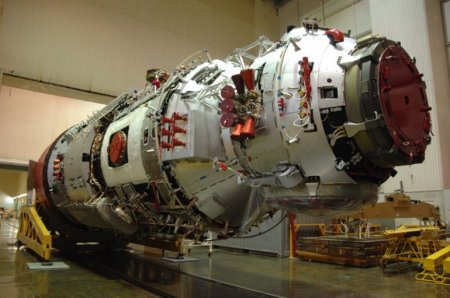 Запуск российского модуля