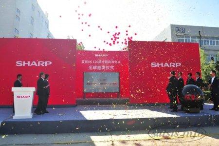 120 дюймов, 120 Гц, 8К и 5G. Sharp запустила в производство гигантский 8К-телевизор