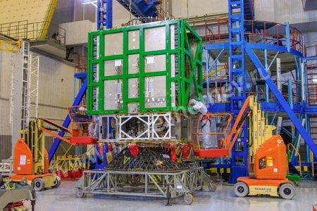 Завершена сборка спутника связи «Экспресс-АМУ3»