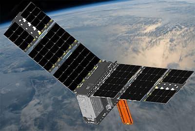 Спутник CubeRRT сошел с орбиты