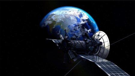В России разработали систему относительной навигации для стыковки спутников обслуживания