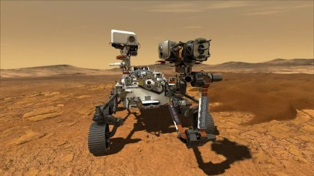 Пока вертолёт Ingenuity готовится к первому полёту, марсоход Perseverance продолжает исследовать Красную планету