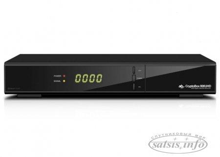 Обзор AB CryptoBox 800UHD DVB-S2X