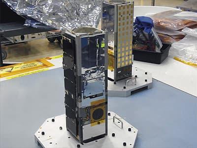 Спутники CATSAT-1 и CATSAT-2 сошли с орбиты