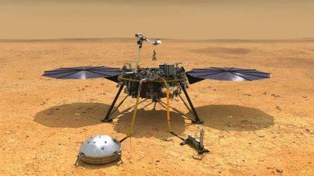 Марсианский зонд InSight зафиксировал два сильных «марсотрясения»