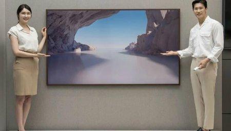 Представлен интерьерный телевизор Samsung The Frame с диагональю 85 дюймов